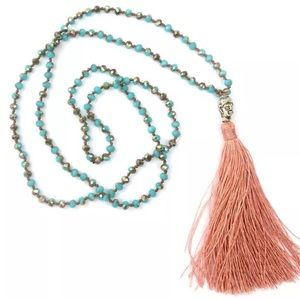 Jewelry - ✨⚡️ Boho Hipster Buddha Tassel Necklace